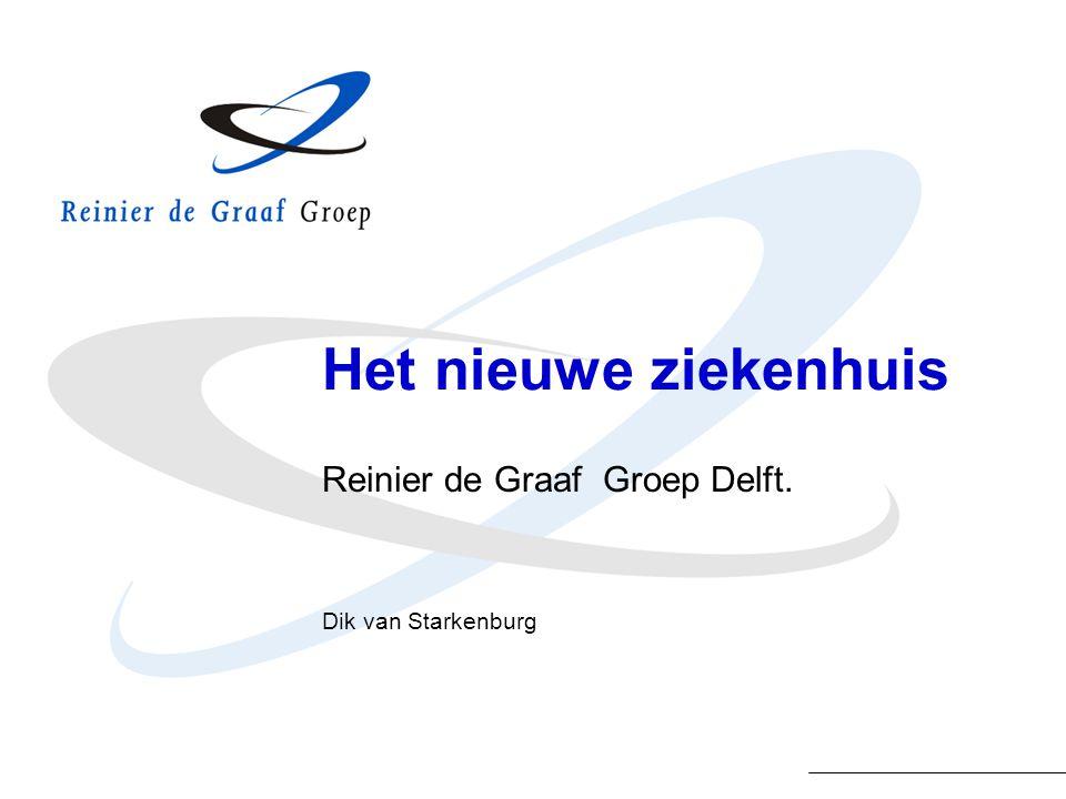 Het nieuwe ziekenhuis Reinier de Graaf Groep Delft. Dik van Starkenburg