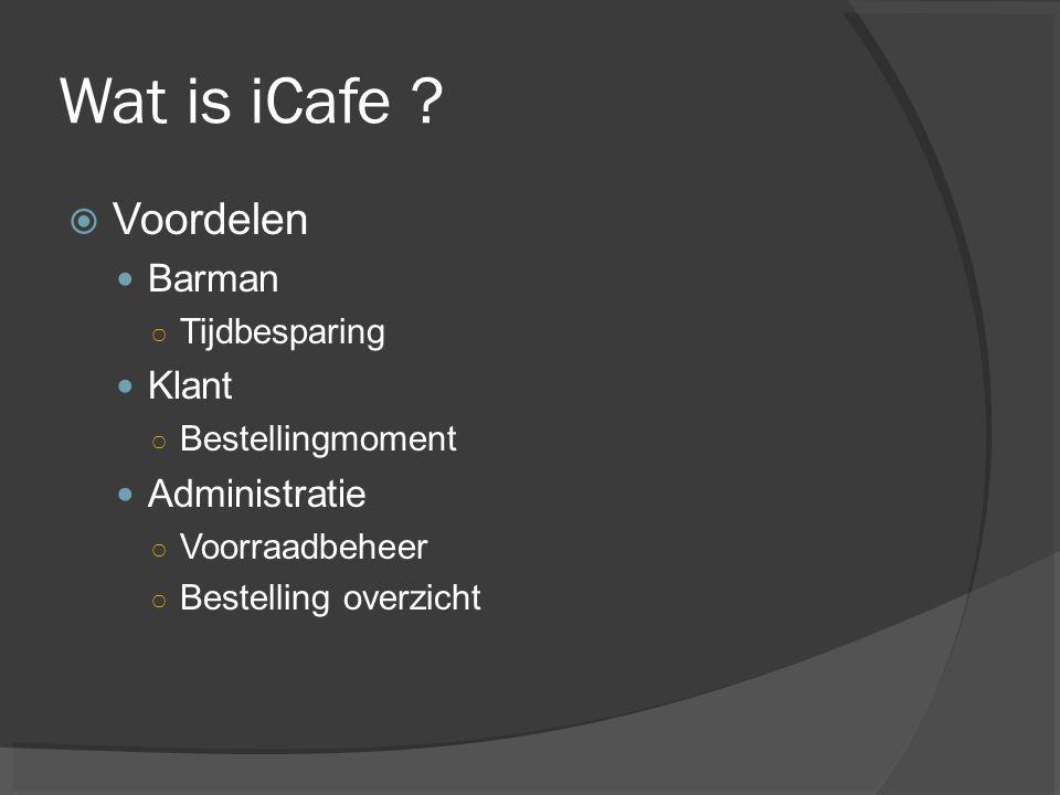 Wat is iCafe?  Werking