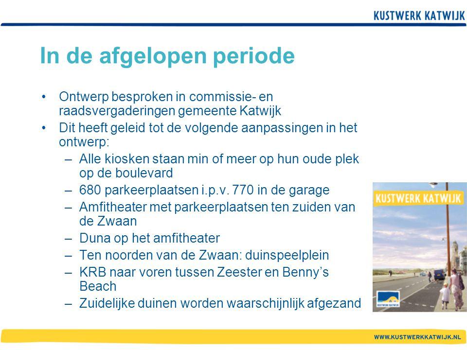 In de afgelopen periode Ontwerp besproken in commissie- en raadsvergaderingen gemeente Katwijk Dit heeft geleid tot de volgende aanpassingen in het on