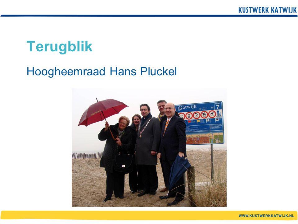 Terugblik Hoogheemraad Hans Pluckel
