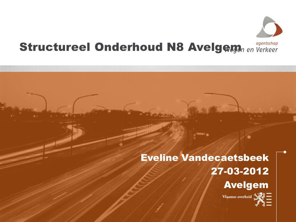 Eveline Vandecaetsbeek 27-03-2012 Avelgem Structureel Onderhoud N8 Avelgem