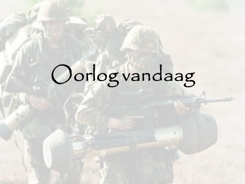 lopende oorlogen Hoeveel oorlogen startten in 2011.