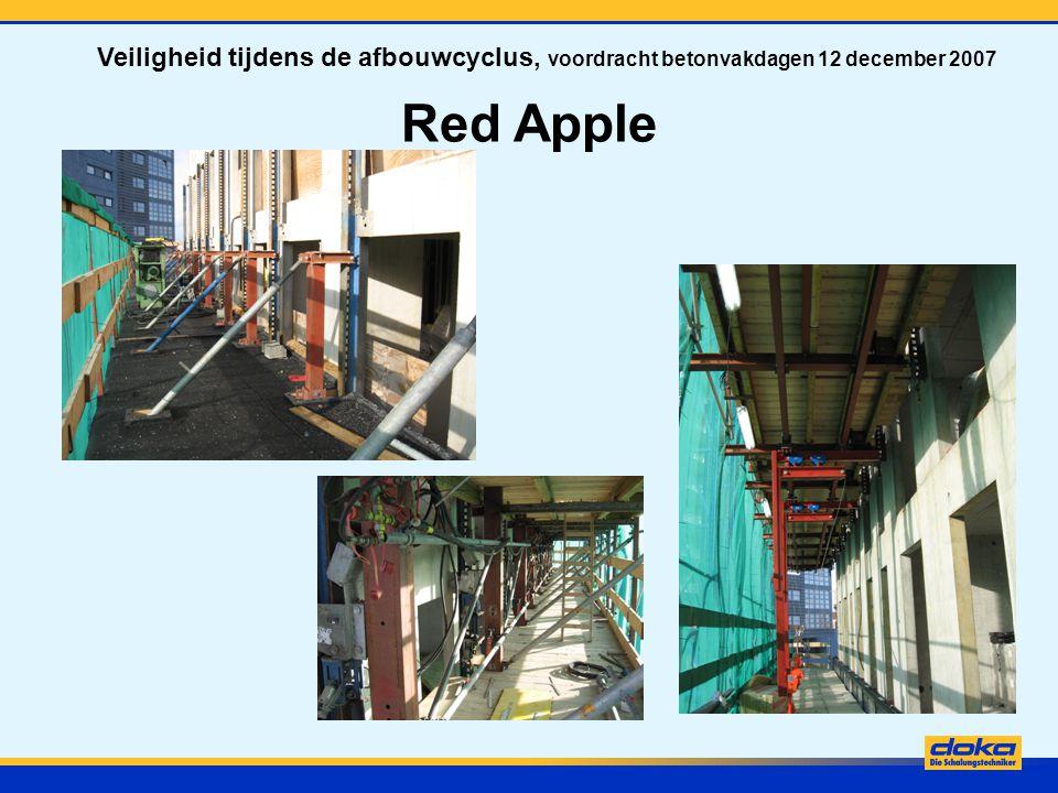 Red Apple Veiligheid tijdens de afbouwcyclus, voordracht betonvakdagen 12 december 2007