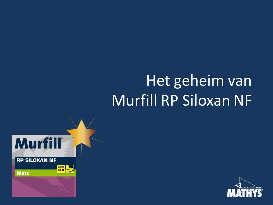 Het geheim van Murfill RP Siloxan NF