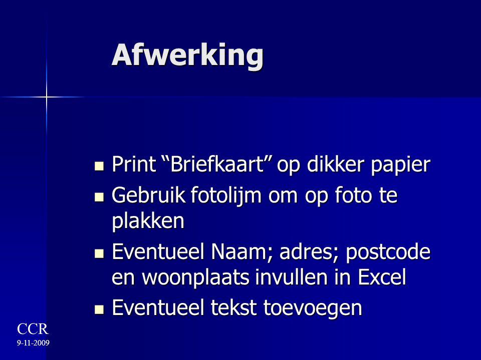 """Afwerking Print """"Briefkaart"""" op dikker papier Print """"Briefkaart"""" op dikker papier Gebruik fotolijm om op foto te plakken Gebruik fotolijm om op foto t"""