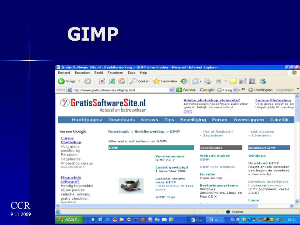 GIMP CCR 9-11-2009