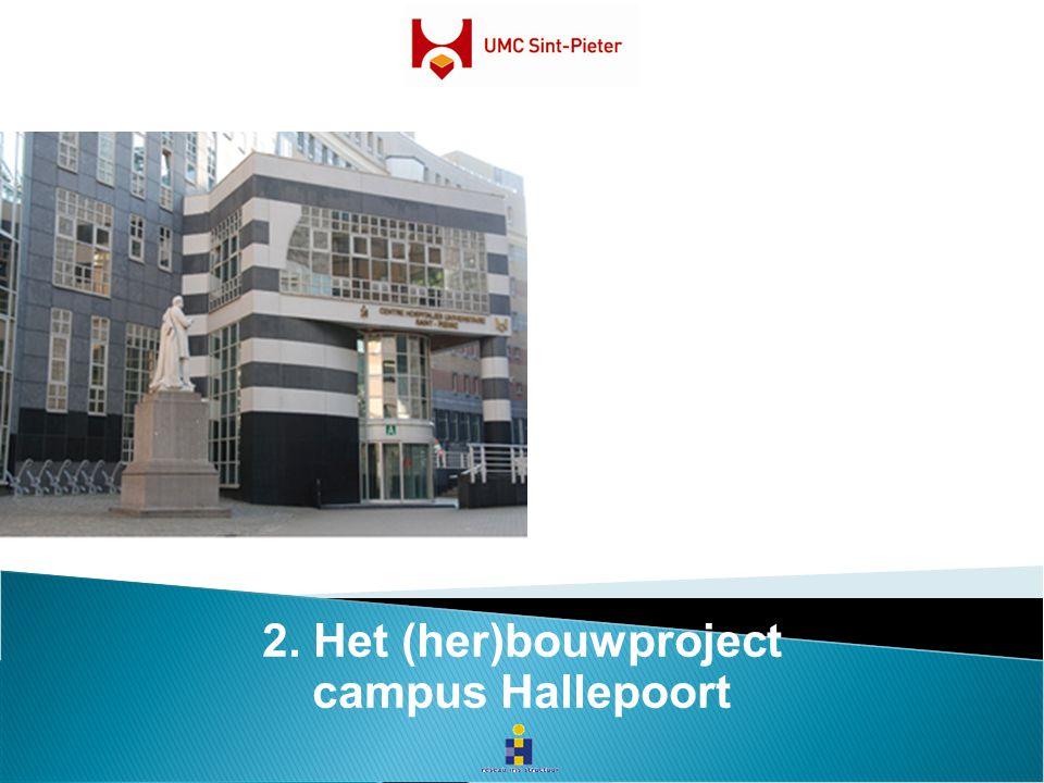 2. Het (her)bouwproject campus Hallepoort