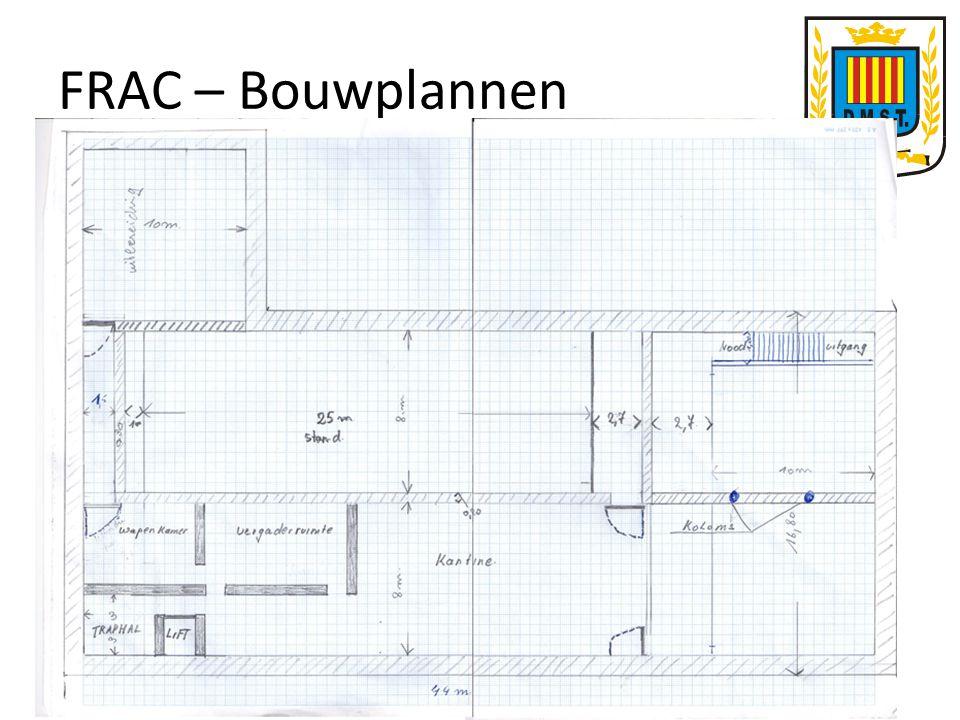 FRAC – Bouwplannen