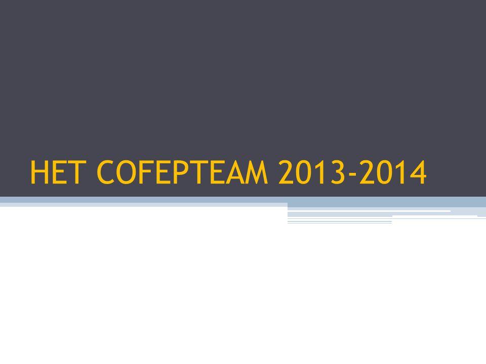 HET COFEPTEAM 2013-2014