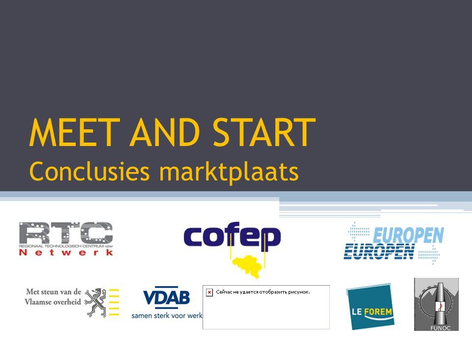 MEET AND START Conclusies marktplaats