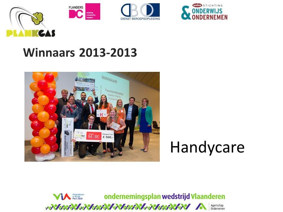 Handycare Winnaars 2013-2013