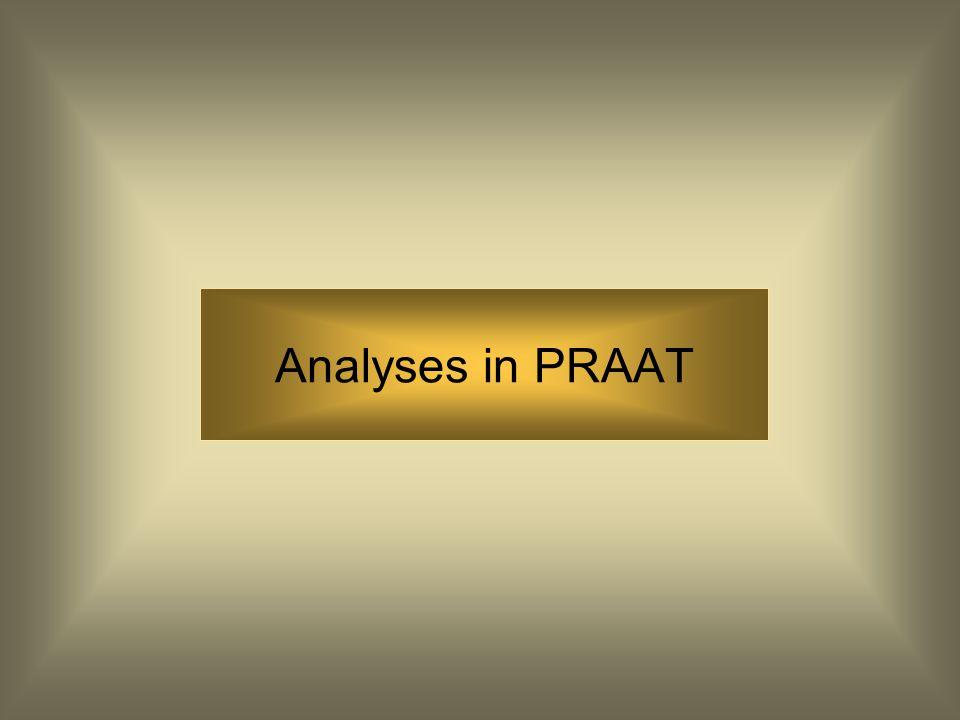 Pictures in PRAAT Via het file menu in het 'Praat Picture' scherm kun je ook 'copy to clipboard' kiezen. Op die manier kun je een plaatje direct weer