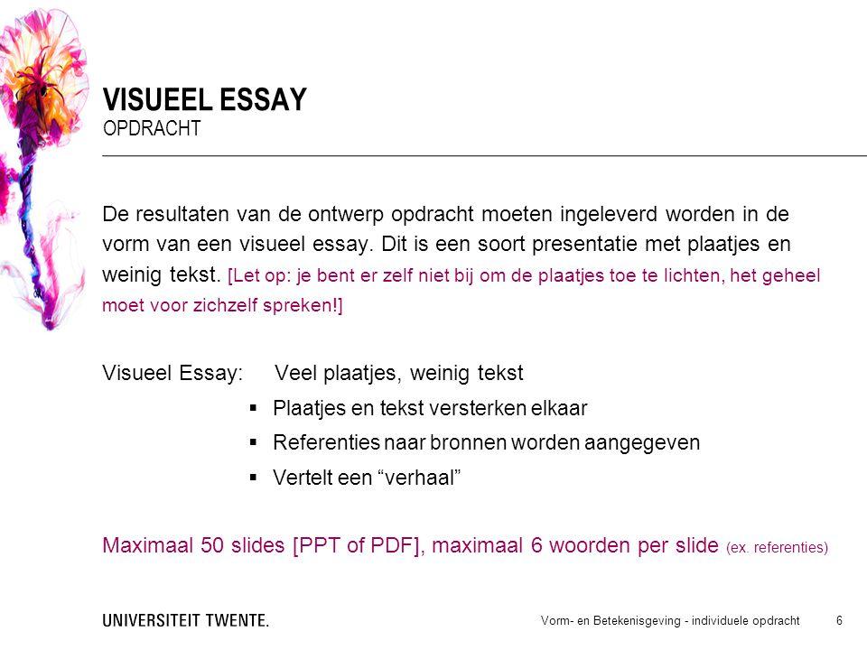 revision analysis essay