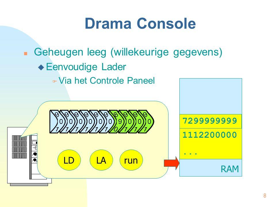 8 Drama Console Geheugen leeg (willekeurige gegevens)  Eenvoudige Lader  Via het Controle Paneel RAM 1112200000...