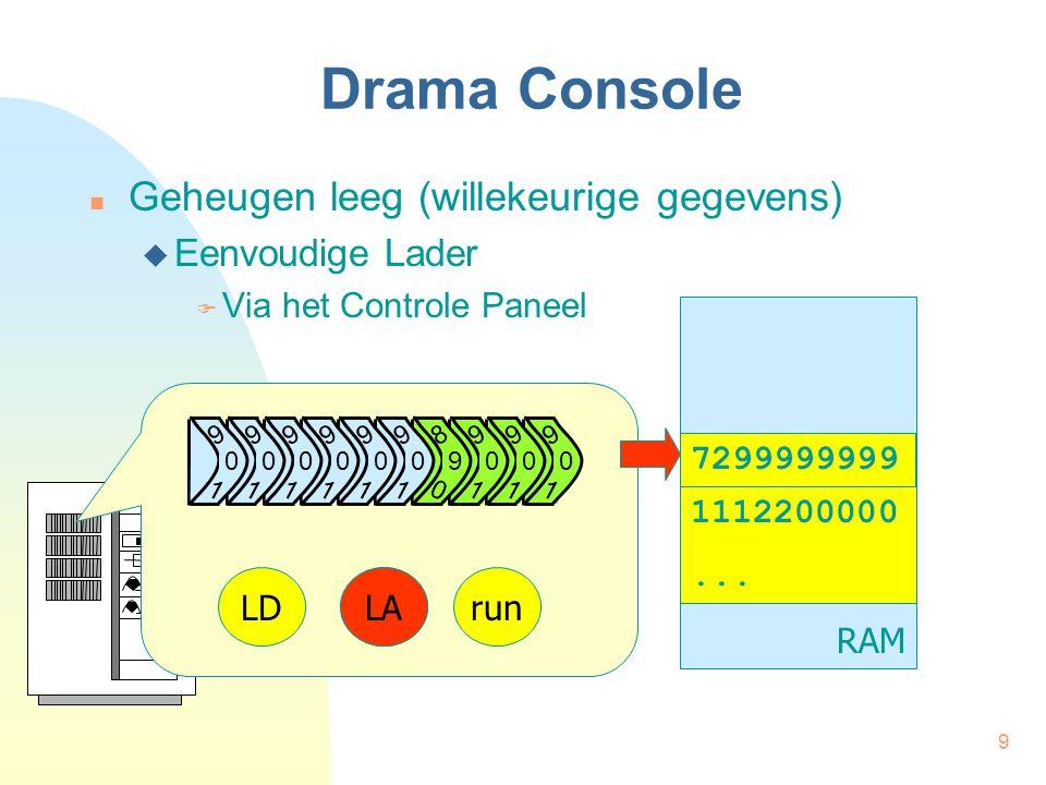 9 Drama Console Geheugen leeg (willekeurige gegevens)  Eenvoudige Lader  Via het Controle Paneel RAM 1112200000...