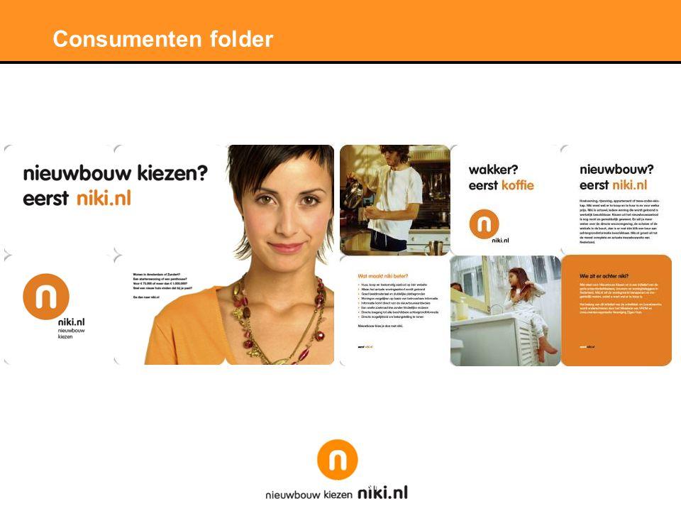Consumenten folder
