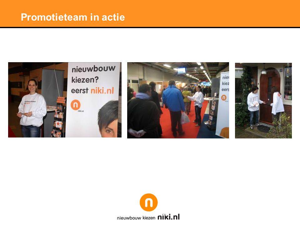 Stichting LNP Promotieteam in actie