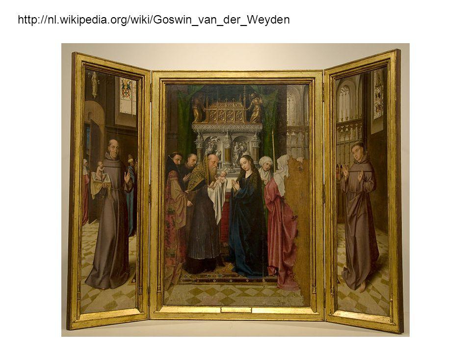 http://nl.wikipedia.org/wiki/Goswin_van_der_Weyden