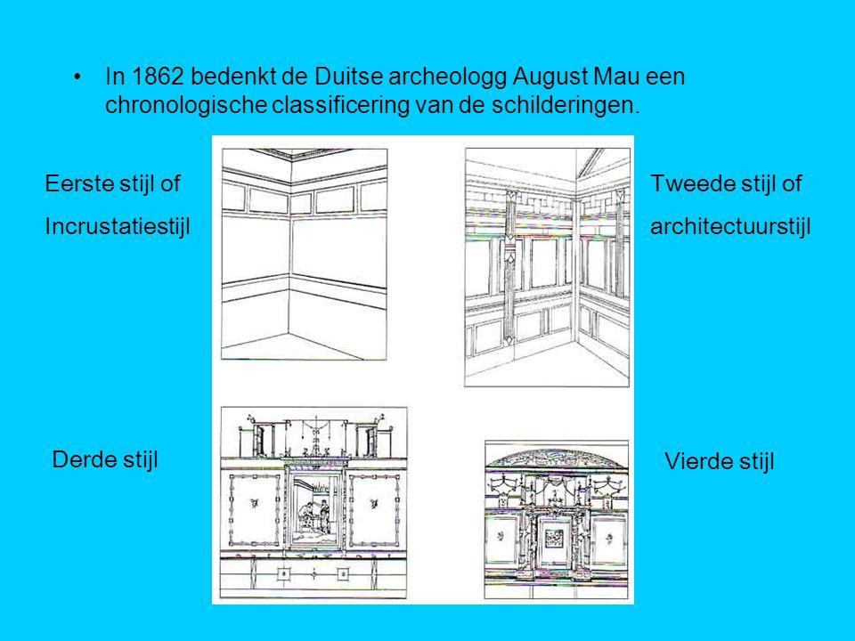 De Eerst Stijl of Incrustatiestijl Periode: 200 – 70 v.Chr.