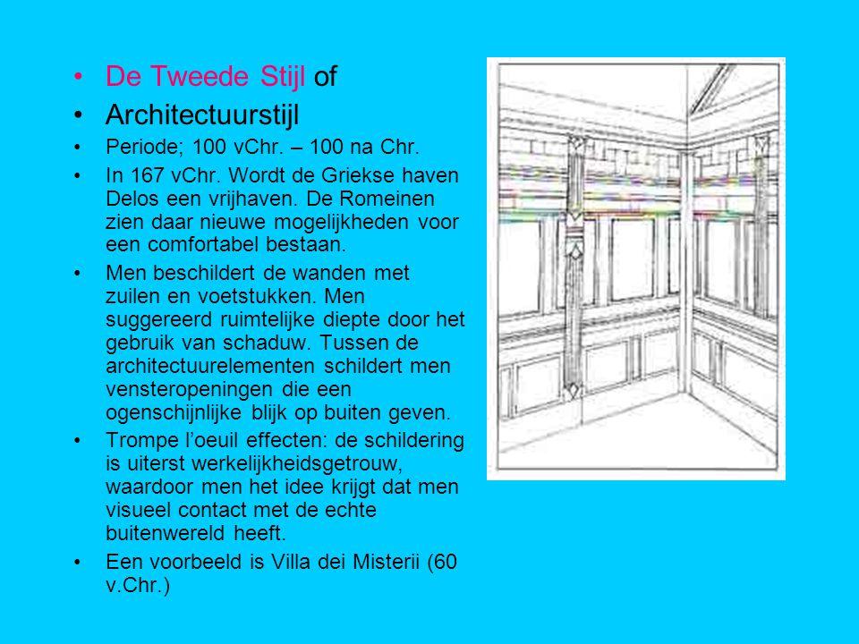 De Tweede Stijl of Architectuurstijl Periode; 100 vChr.
