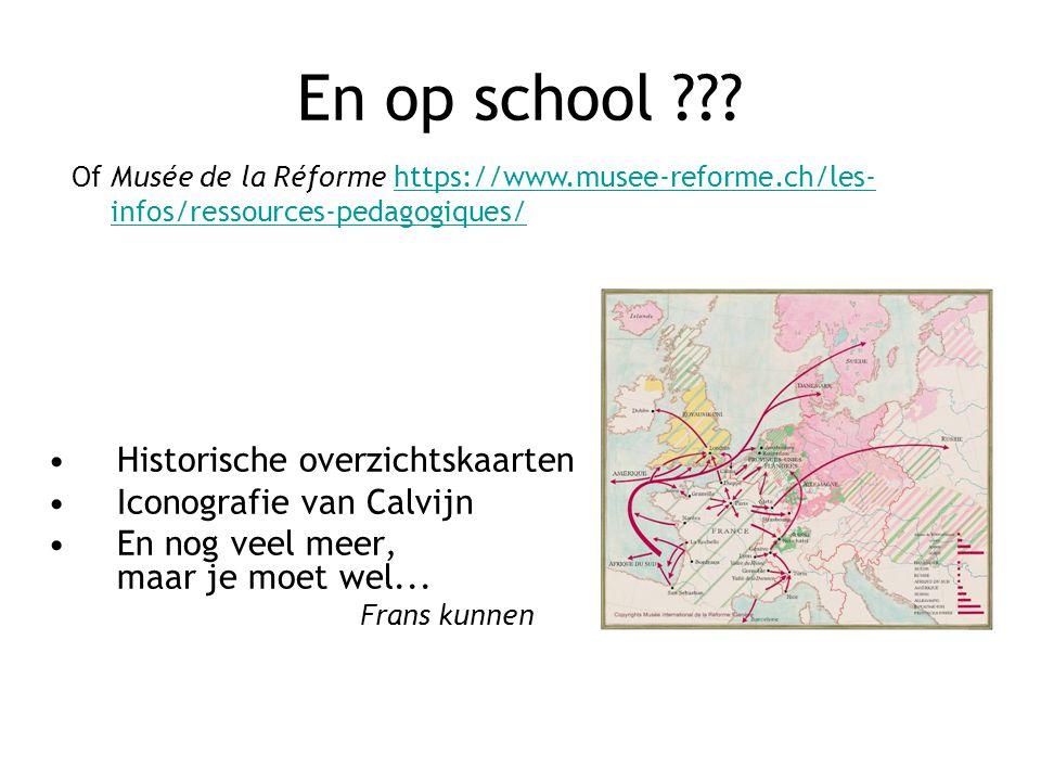 En op school ??.