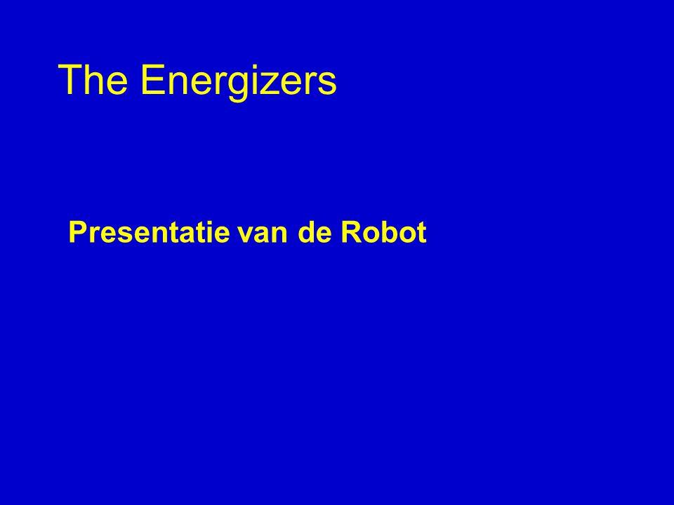 The Energizers Presentatie van de Robot