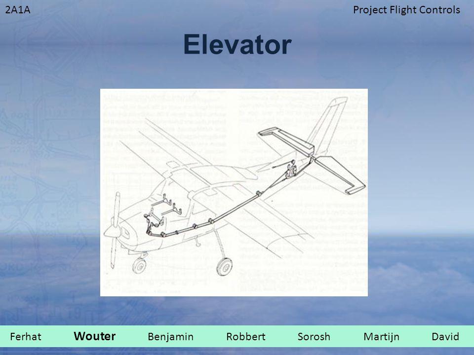 2A1AProject Flight Controls Elevator Ferhat Wouter Benjamin Robbert Sorosh Martijn David.