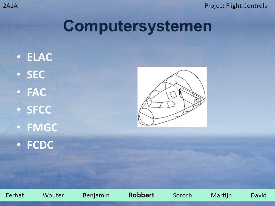 2A1AProject Flight Controls Computersystemen ELAC SEC FAC SFCC FMGC FCDC Ferhat Wouter Benjamin Robbert Sorosh Martijn David.