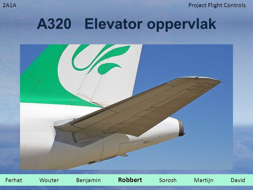2A1AProject Flight Controls A320 Elevator oppervlak Ferhat Wouter Benjamin Robbert Sorosh Martijn David.