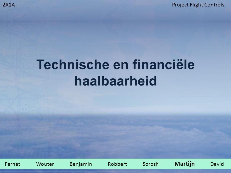 2A1AProject Flight Controls Technische en financiële haalbaarheid Ferhat Wouter Benjamin Robbert Sorosh Martijn David.
