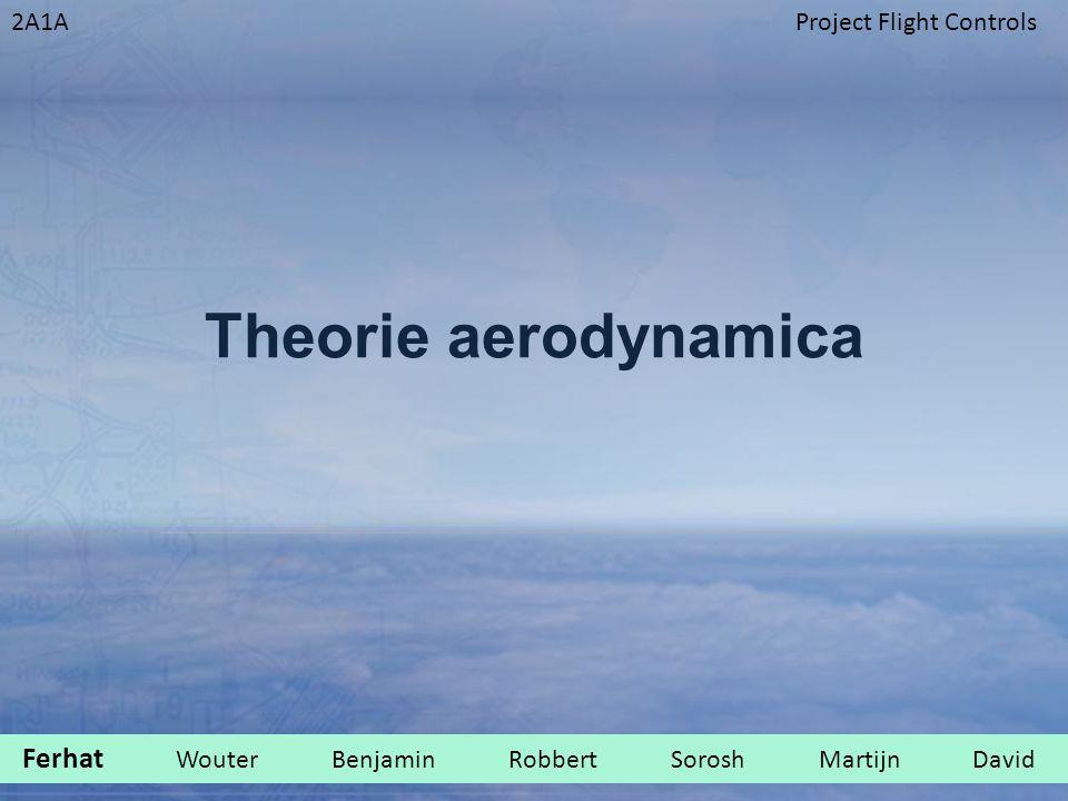 2A1AProject Flight Controls Theorie aerodynamica Ferhat Wouter Benjamin Robbert Sorosh Martijn David.