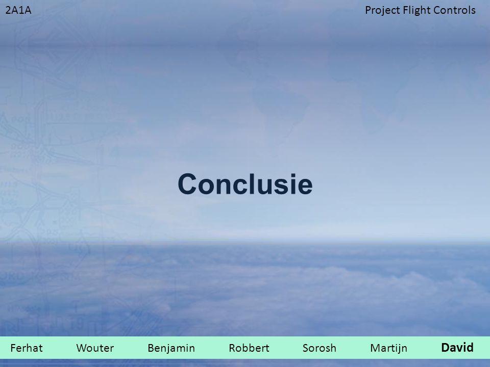 2A1AProject Flight Controls Conclusie Ferhat Wouter Benjamin Robbert Sorosh Martijn David.