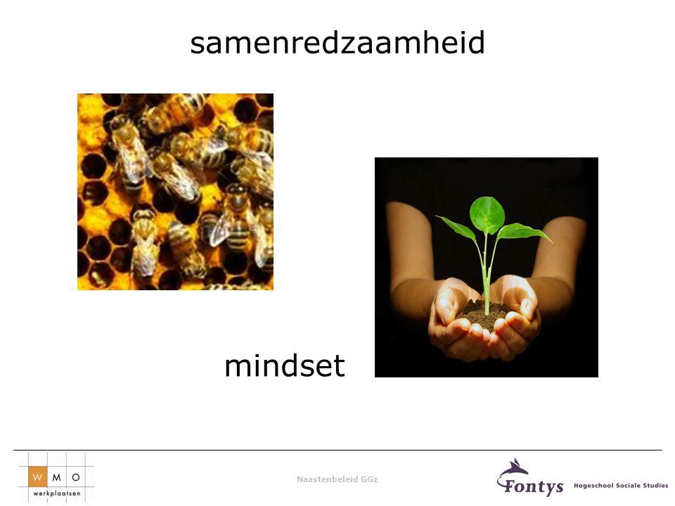 Naastenbeleid GGz samenredzaamheid mindset