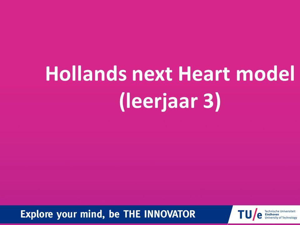 Hollands next Heart model (leerjaar 3)