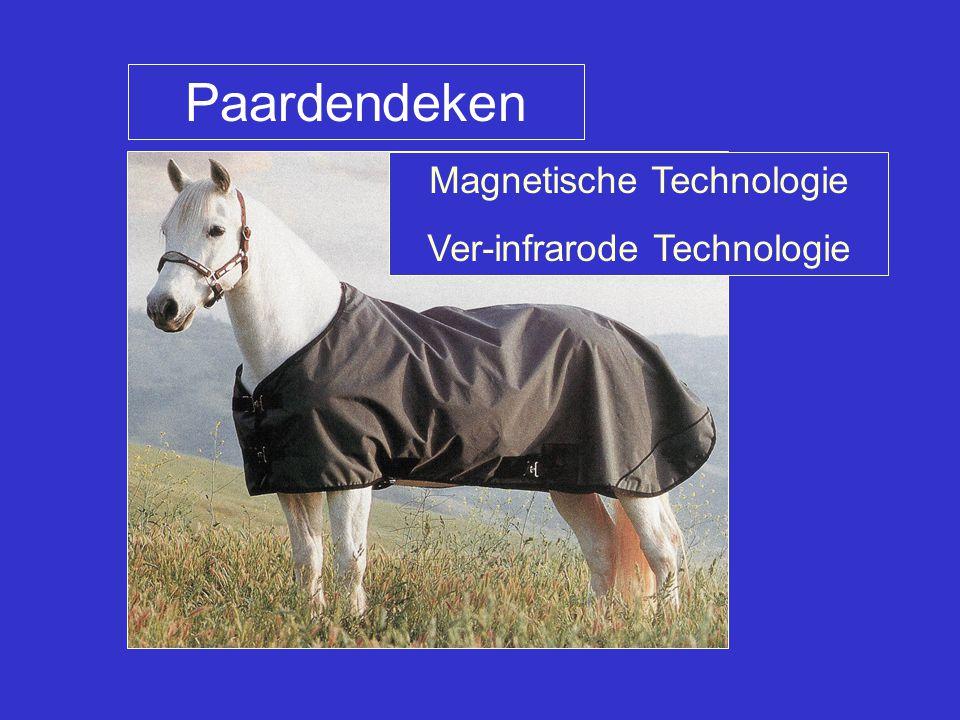 Paardendeken Magnetische Technologie Ver-infrarode Technologie