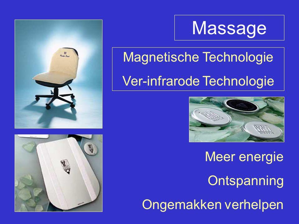 Massage Magnetische Technologie Ver-infrarode Technologie Meer energie Ontspanning Ongemakken verhelpen