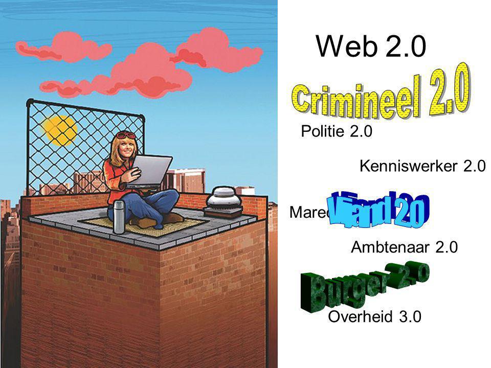 Web 2.0 Overheid 3.0 Kenniswerker 2.0 Marechaussee 2.0 Ambtenaar 2.0 Politie 2.0