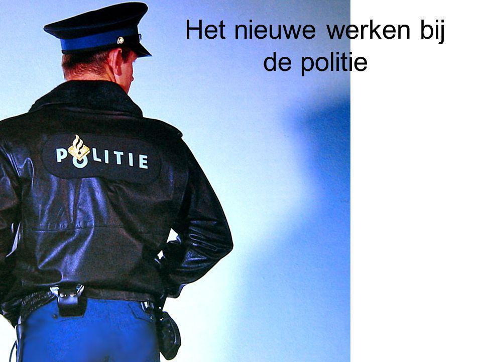 Het nieuwe werken bij de politie