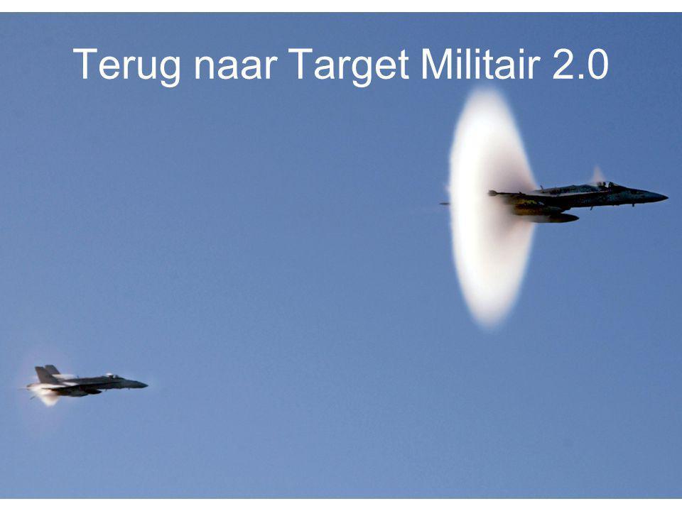 Terug naar Target Militair 2.0