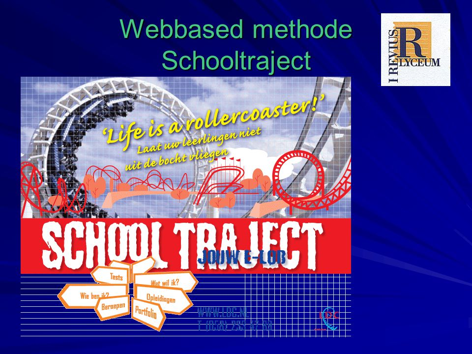 Webbased methode Schooltraject