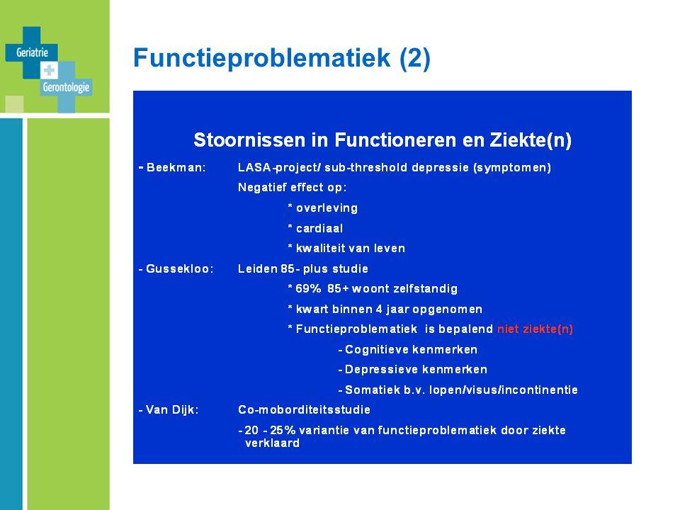 Functieproblematiek (2)
