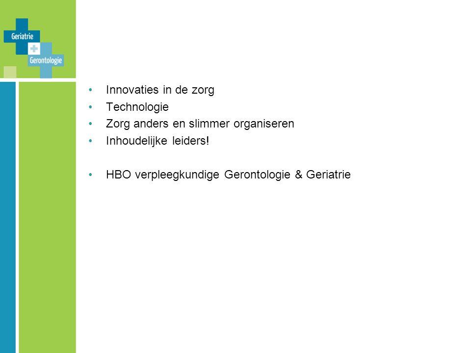 Inspiratielandschap met thematafels en workshop Neem uw stoel mee naar…………… Thematafels: Stage en werken in de ziekenhuisverplaatste zorg Kwartier maken: Hbo-stages creëren en pas afgestudeerden een plek in de zorgorganisatie geven Toolkit Uitstroomvariant VGG van de HBO-v van Hogeschool Utrecht Begeleiden van zelfstandige professionele teams Ervaringen van Bachelors in de ouderenzorg Netwerk studenten en pas-afgestudeerden in de ouderenzorg Praktijkleerplaatsprofiel HBO-verpleegkundigen: onbetaalbaar.