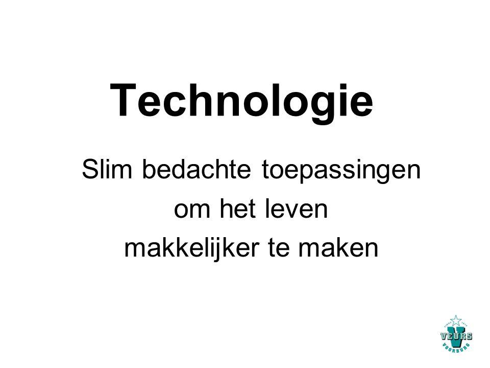 Technologie Slim bedachte toepassingen om het leven makkelijker te maken