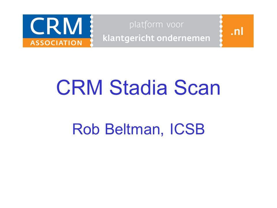 CRM Stadia Scan Rob Beltman, ICSB