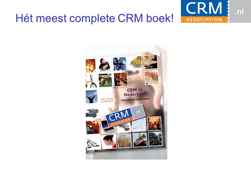 Hét meest complete CRM boek!
