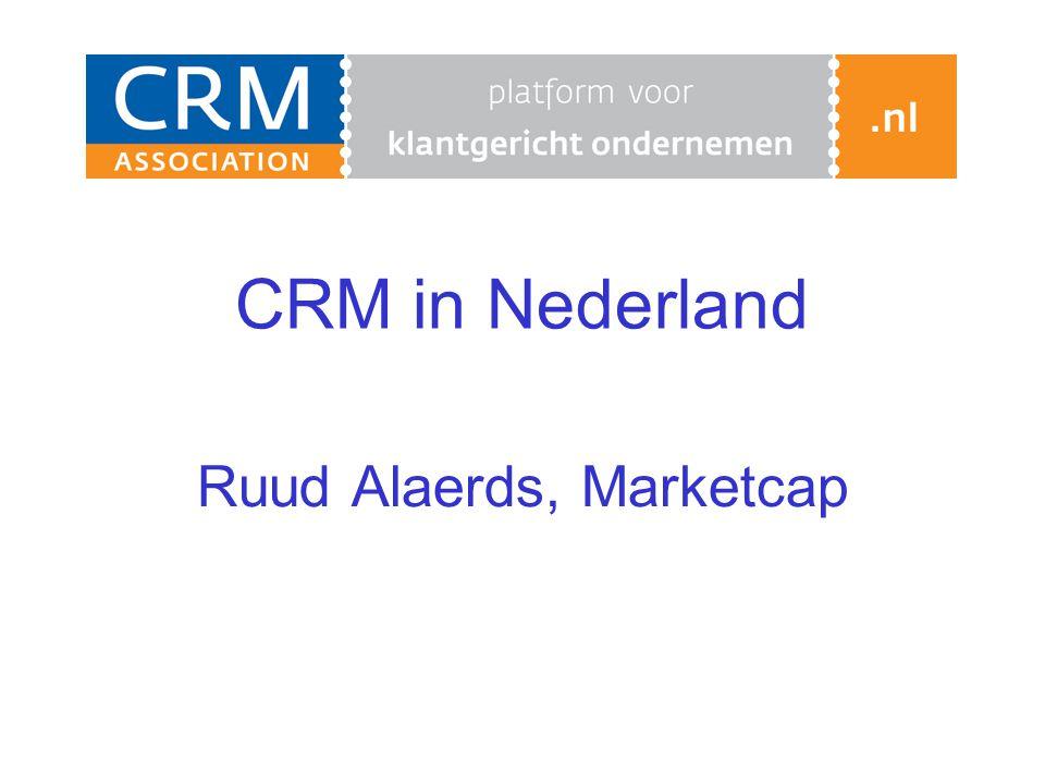 CRM in Nederland Ruud Alaerds, Marketcap