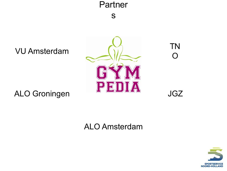 Partner s ALO Amsterdam ALO GroningenJGZ VU Amsterdam TN O