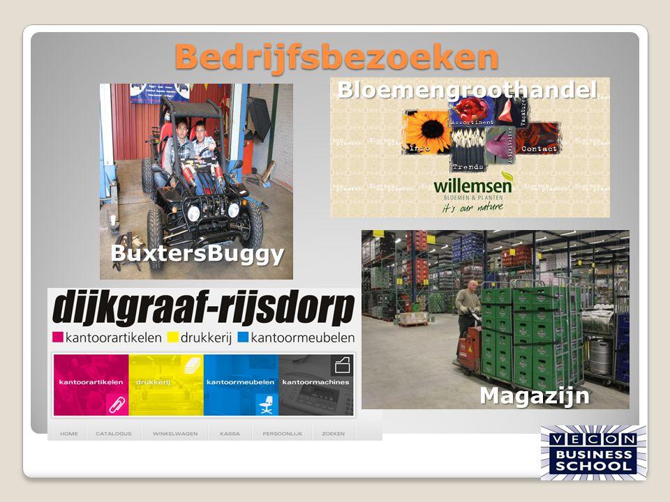 Bedrijfsbezoeken BuxtersBuggy Bloemengroothandel Magazijn