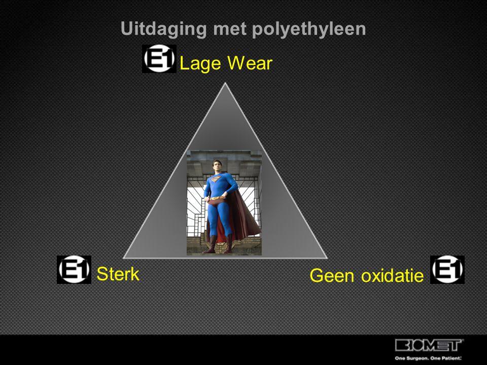 Lage Wear Sterk Geen oxidatie Uitdaging met polyethyleen