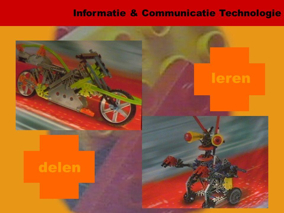 Informatie & Communicatie Technologie delen werken bewijzen leren
